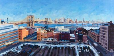 Ellen Bradshaw, 'Winter View over South Street Seaport', 2016