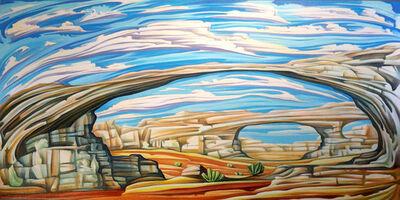 Jono Tew, 'Green Arches'