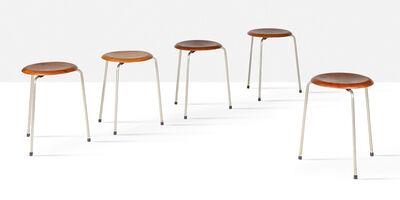 Arne Jacobsen, 'Dot stools, set of 5', 1967