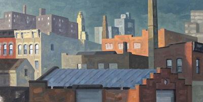 Robert Goldstrom, 'Flushing, West, Panorama, Study', 2016