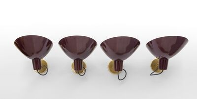 Vittoriano Viganò, 'A set of four modello 2 wall lamps', Early 1950's