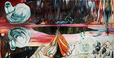 Meta Isaeus-Berlin, 'Den stora glömskan (triptych)', 2015