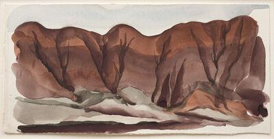 Georgia O'Keeffe, 'Untitled (Ghost Ranch Landscape)', ca. 1934