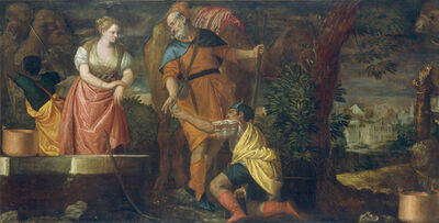 Paolo Veronese, 'Rebecca at the Well', 1580/1585