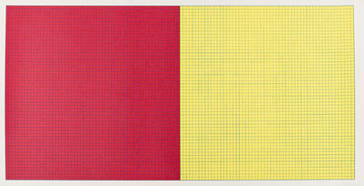 Sol LeWitt, 'Grids & Colours (Red and Yellow)', 1979