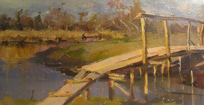 Pavel Petrovich Yanushkevich, 'Little bridge', 1959