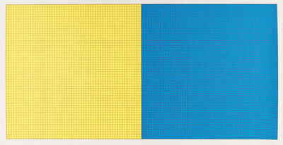 Sol LeWitt, 'Grids & Colour (Yellow and Blue)', 1979