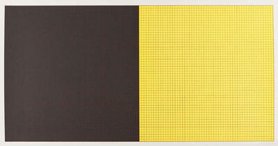 Sol LeWitt, 'Grids & Colour (Black and Yellow)', 1979