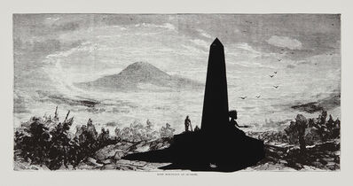 Kara Walker, 'Lost Mountain at Sunrise, from Harper's Pictorial History of the Civil War (Annotated)', 2005