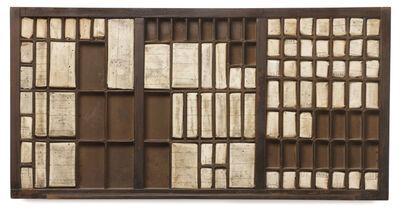 Verónica Vázquez, 'Typography drawer', 2010