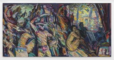 Carlos Almaraz, 'Yesterday and Today, diptych', 1986
