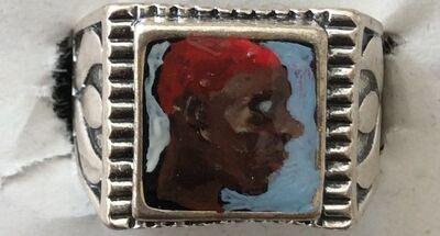 "Geraldine Swayne, 'Portrait Ring - "" Anonymous Young Man""', 2017"