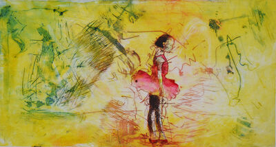 Lebohang Sithole, 'Red Dress', 2016