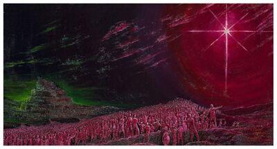 Philip Mantofa, 'THE WORLD BEHIND ME, THE CROSS BEFORE ME! 世界在背後,十架在前頭!', 2014