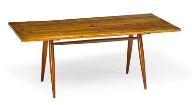 George Nakashima, 'Turned Leg dining table, New Hope, PA', 1956