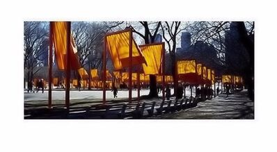 Christo and Jeanne-Claude, 'The Gates Schattenspiel'