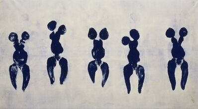 Yves Klein, 'Anthropometry of the Blue Period (ANT 82)', 1960