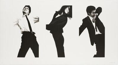 Robert Longo, 'Jules, Gretchen, Mark, State II'
