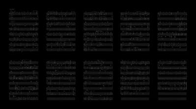 Deanna Bowen, 'Gibson Notations 2', 2019