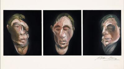 Francis Bacon, 'Trois études pour un autoportrait (after, Three Studies for a Self-Portrait 1983).', 1990
