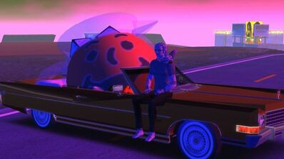 Jon Rafman, 'Kool-Aid Man in Second Life', 2009
