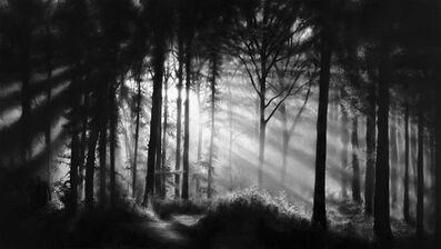 Robert Longo, 'Untitled (In the Garden, Et in Arcadia Ego)', 2014