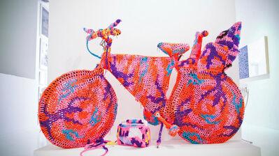 Olek, 'Crocheted Object - Bicycle', 2010