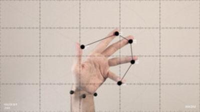 Manu Arregui, 'Ejercicios de medición sobre el movimiento amanerado de las manos', 2014
