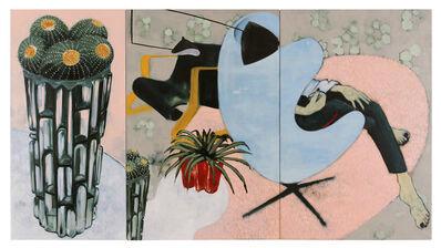 Sara Berman, 'Big Cactus, Little Cactus (Triptych)', 2017