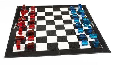 Keith Haring, 'Chess Set', 2001