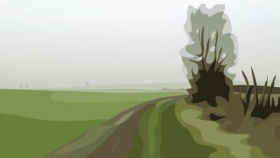 Julian Opie, 'Winter 11.', 2012