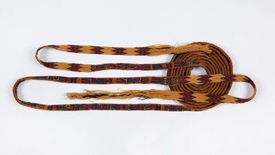Andean artisan, 'Nasca Belt or Head Wrapping', 200-500