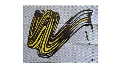 """Roy Lichtenstein, '""""Brush Stroke"""", 1965, Invitation/ Mailer/Poster, Leo Castelli Gallery NYC', 1965"""