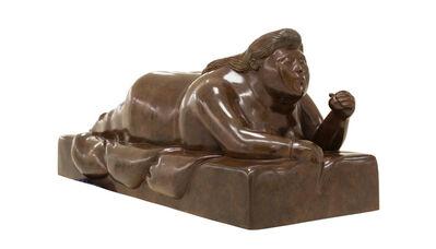 Fernando Botero, 'Reclining Woman '