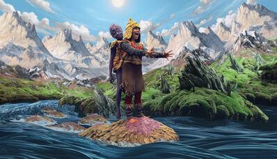 "Björk, 'Still from ""Wanderlust"" directed by Encyclopedia Pictura', 2008"