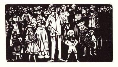 Wassily Kandinsky, 'The Spectators', 1903
