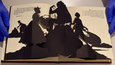 Kara Walker, 'Freedom, a Fable: A Curious Interpretation of the Wit of a Negress in Troubled Times', 1997