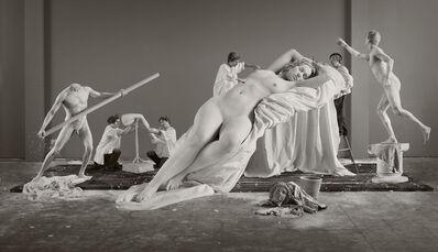 "Eleanor Antin, 'Constructing Helen from ""Helen's Odyssey""', 2007"