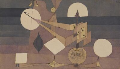 Paul Klee, 'Agricultural Experimental Plan for Late Fall', 1922