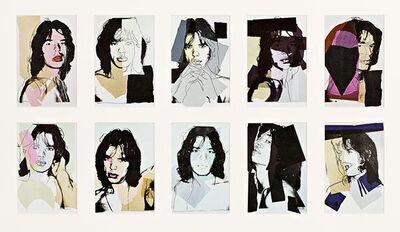 Andy Warhol, 'Mick Jagger Invitation Cards', 1975