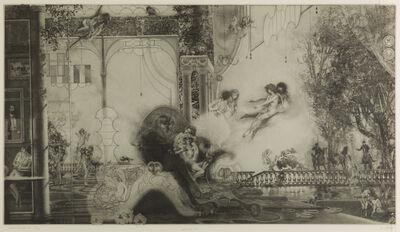 Peter Milton, 'Les Belles et la Bête II: Before the Hunt', 1978