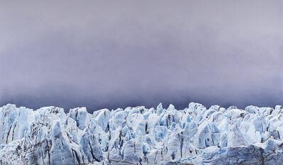 Zaria Forman, 'Risting Glacier, South Georgia, No. 1', 2016