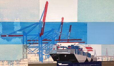 Detlef Waschkau, 'Port of Hamburg', 2017