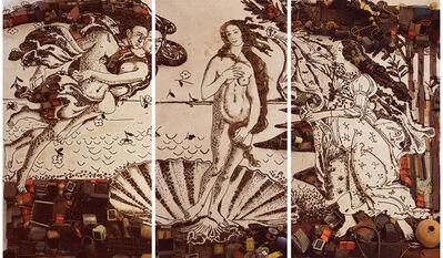 Vik Muniz, 'The Birth of Venus, after Botticelli (Pictures of Junk)', 2008