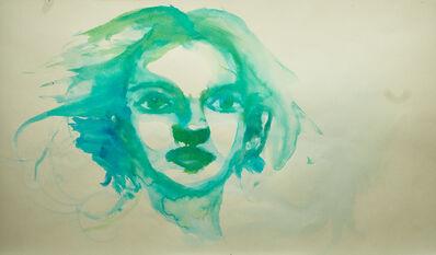 Alexandra Bregman, 'Woman's Face in Green', 2018