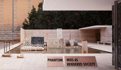 Andres Jaque, 'Phantom. Mies as Rendered Society. Methacrylate boxes', 2012