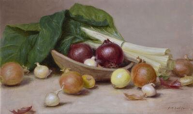 Gracie Devito, 'Onions and Swiss Chard'