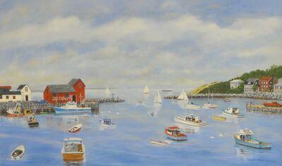 Mark Warren, 'Boats Leaving Rockport'