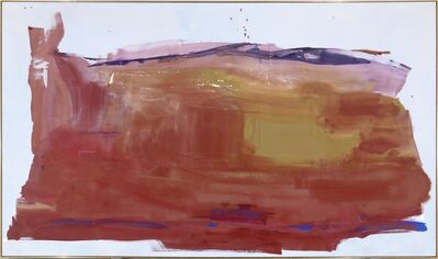 Helen Frankenthaler, 'Giant Step', 1975