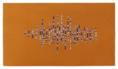 Ellsworth Kelly, 'Lettering Cut Up in Strips', 1950